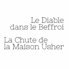 Devil in the Belfry / Fall of the House of Usher Opéra National de Paris Debussy Poe Clarac Deloeuil